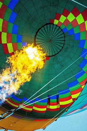 serengeti balloon ride with rough landing