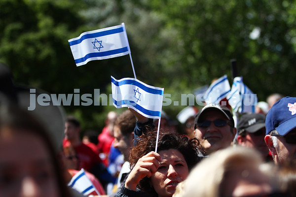 Rally for Israel 18-11-12