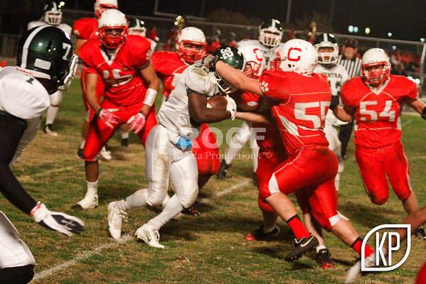 Football @ Ceres High - 11/8/13