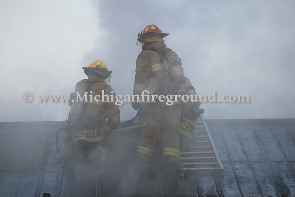 7/30/13 - Lansing commercial building fire, 5937 S. M.L.King