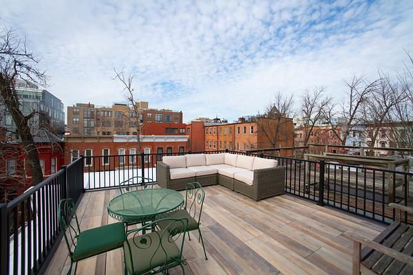 Kingman Place Rooftop Deck Wash DC