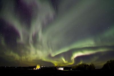 Northern Lights + Night Sky