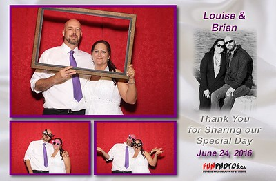June 24, 2016 Louise and Brian