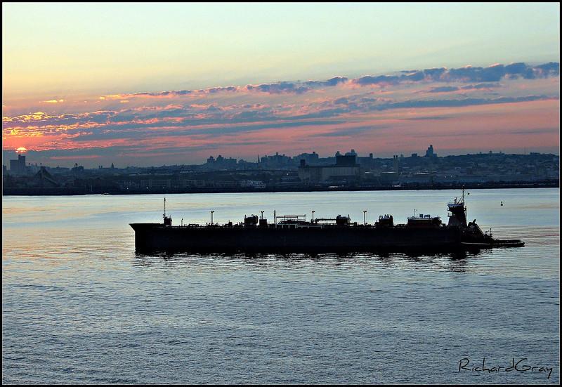 Sunset, North Atlantic