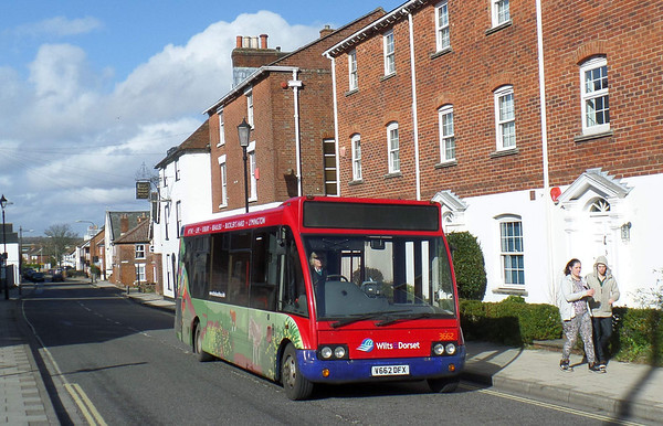 Optare Solo (V and X reg)