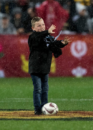 Ball Boyduring game 9 of the British and Irish Lions 2017 Tour of New Zealand, the second Test match between  The All Blacks and British and Irish Lions, Westpac Stadium, Wellington, Saturday 1st July 2017 (Photo by Kevin Booth Steve Haag Sports)  Images for social media must have consent from Steve Haag