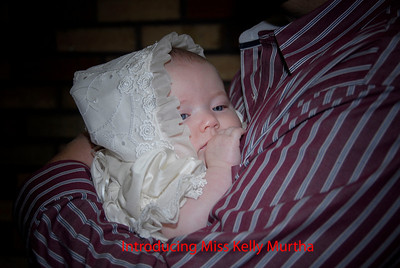 Kelly Murtha Christening