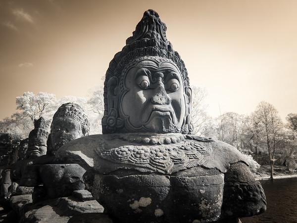 Angkor Thom Infrared