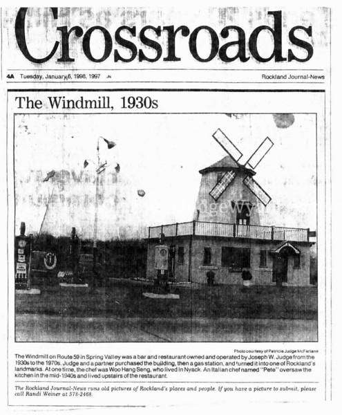 Joseph W Judge II owned the Windmill