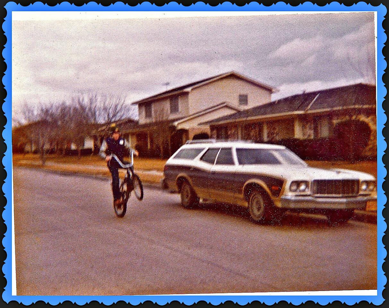 1972 Wheelie on Schwinn 5 speed