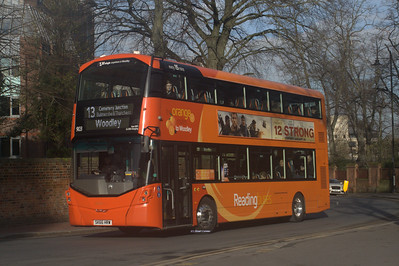 903, SK66HRW, Reading Buses, The Forbury, Reading.