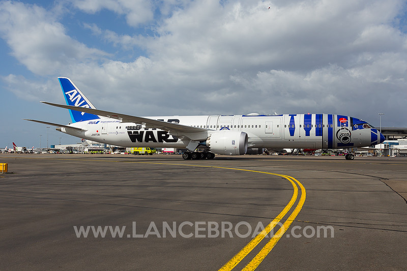 All Nippon Airways 787-9 - JA873A - SYD
