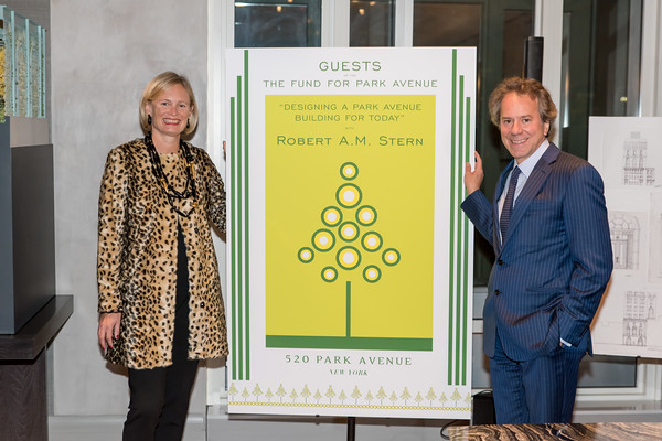 """Nov 15, 2016 Fund for Park Avenue hosts """"Designing a Park Avenue Building For Today"""" by Robert A. M. Stern"""