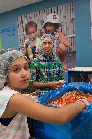 Volunteering - Feed My Starving Children - 2016