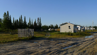 Webequie First Nation, Aug 26/12, town