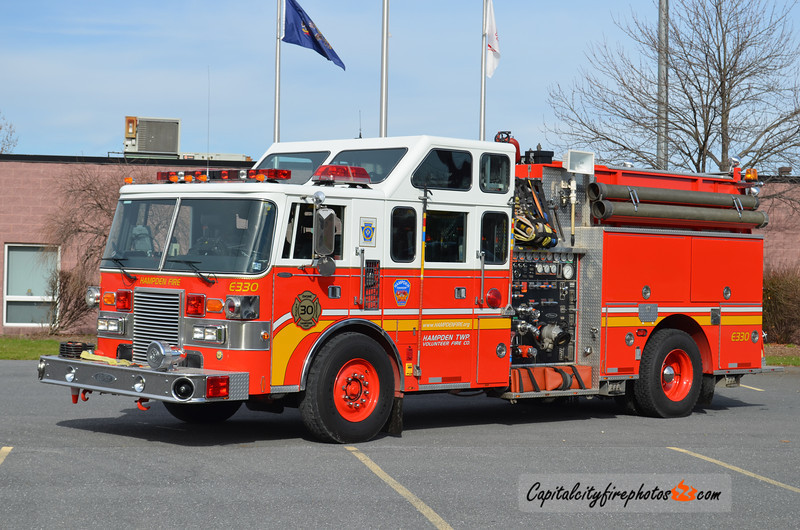 Hampden Township Engine 3-30: 1988 Pierce Lance 1750/750