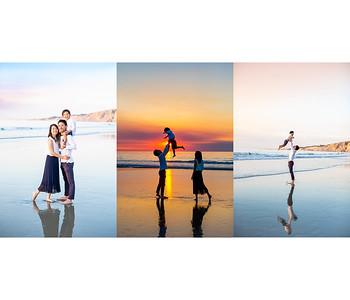 Sunset Beach Family Photography at Scripps Pier La Jolla - Toda November 2018