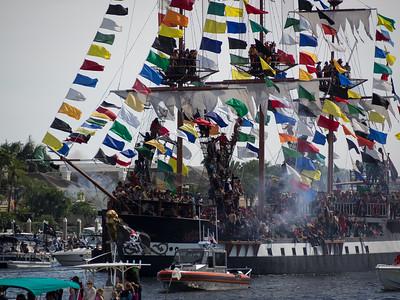 Gasparilla Pirate Invasion 2015