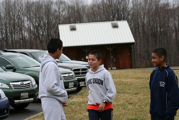 Orienteering travels to Rosaryville, MD