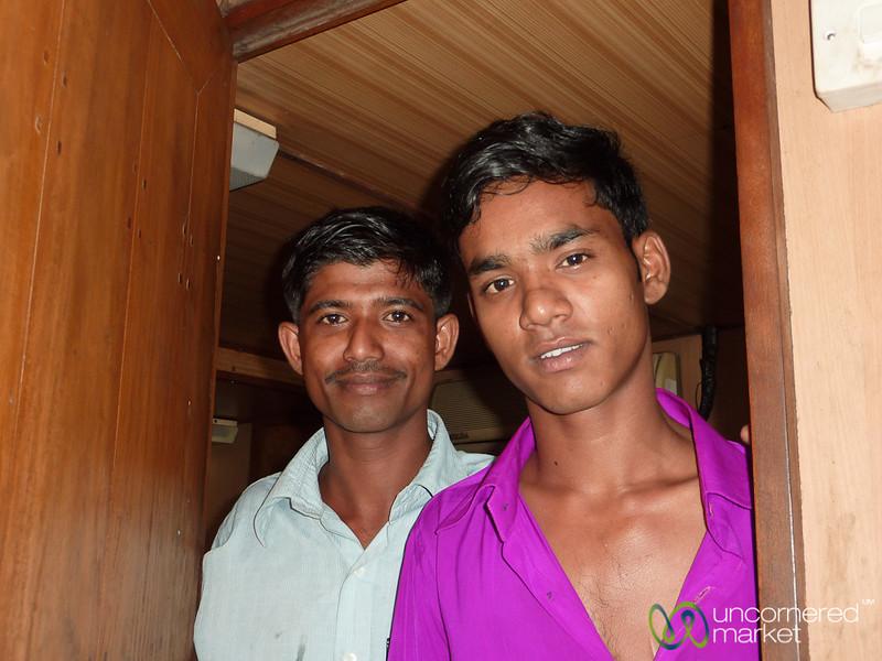 Rocket Steamer Attendants - Bangladesh