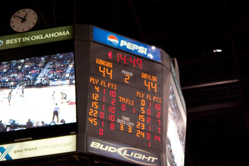 March 12, 2009 KU v Baylor MBB Big12 053