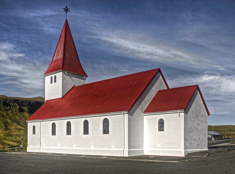 The church in Vik