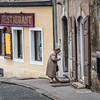Old Town Street Scene, Ljubljana, Slovenia