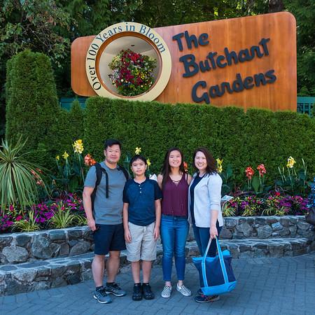 Whale Watching - Butchart Gardens Victoria