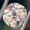 3.56ct Antique Cushion Cut Diamond 4