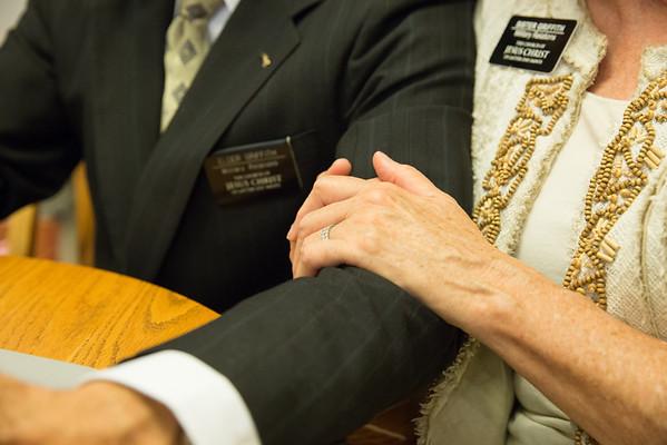 Elder & Sister Griffith (Military Relations Sr Couple) June 2015