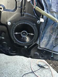2001 Lexus IS300 Front Door Speaker Installation - USA