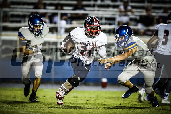 9-6-18 Lake Brantley JV Football at Lyman