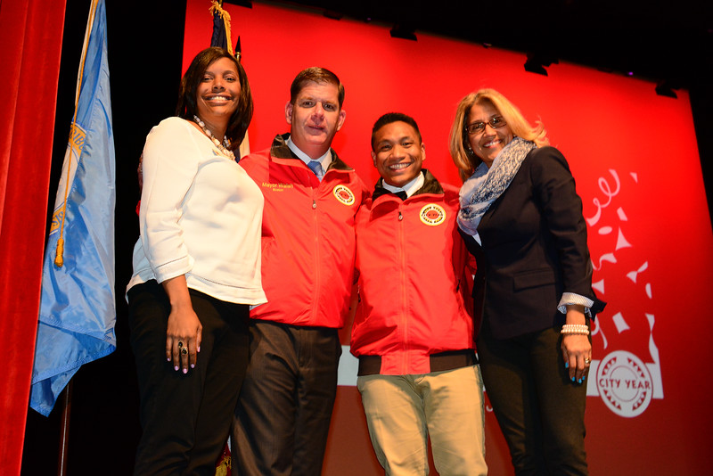 2015 City Year Boston Graduation
