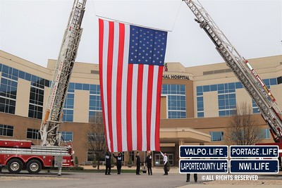 First Responders Honor Porter Regional Hospital Staff