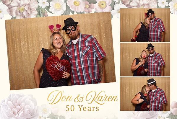 Don & Karen's 50th Anniversary Party 8-25-19