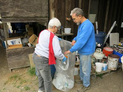 Saturna Recycling depot