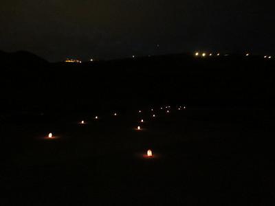 Al Khazna at night - Petra Jordan (Dec 2012)