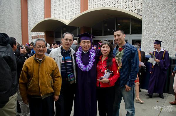 Benji's graduation