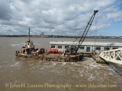 MSC BUFFALO - The Manchester Ship Canal Maintenance Vessel