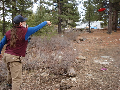 Disc Golf - Truckee 03/05/2014