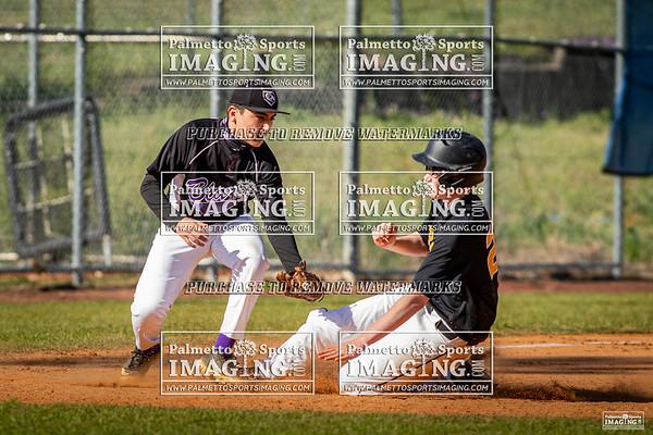 4-3-21 Ridge View vs Irmo B-Team Baseball