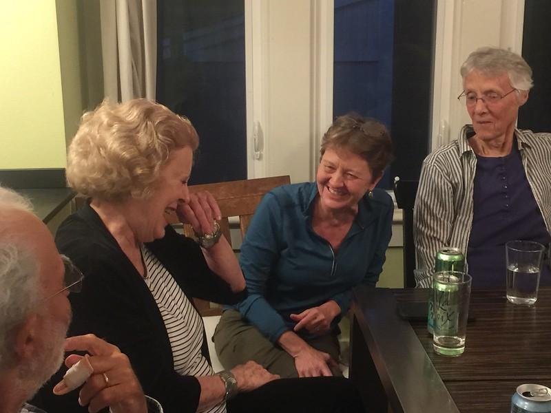 Diana Zykofsky Anhalt, Becky Butler, Pat Byrd