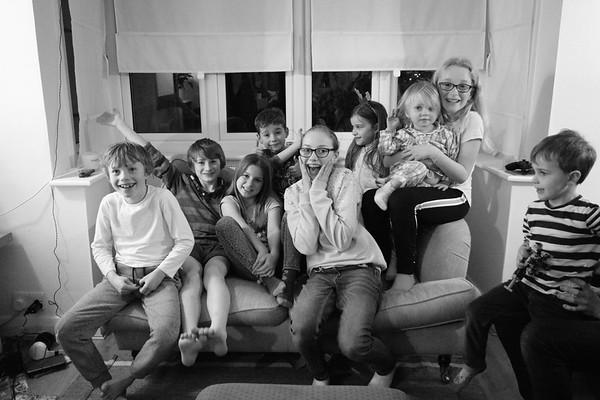 Sutton family Christmas 2019