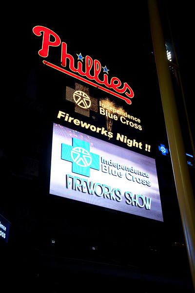 Phillies Fireworks