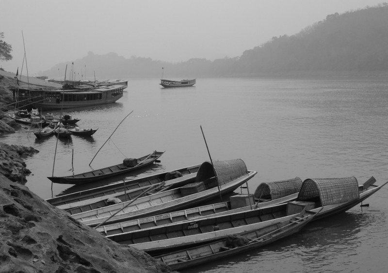 morning on the Mekong