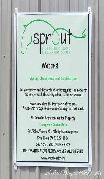 Sprout Therapeutic Riding Center Tour