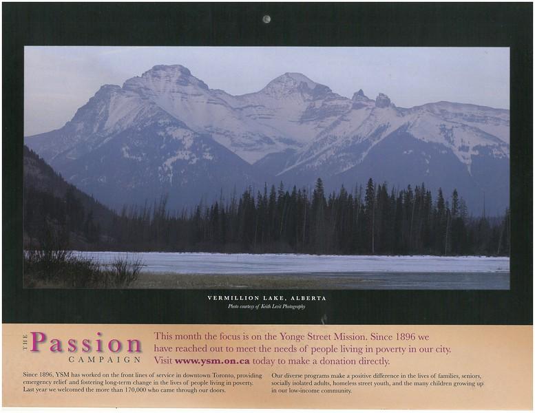 2009 Passion Campaign Calendar Dec. 2009 Vermillion Lake, Alberta page.jpg