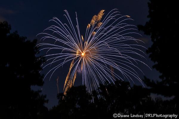 Fireworks - July 4, 2018