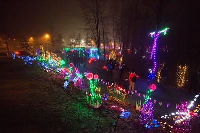 Christmas Lights 2017 - Lafarge Lake