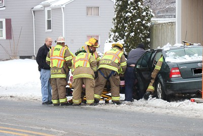 Vehicle Accident - West Shady Lane - February 12, 2019